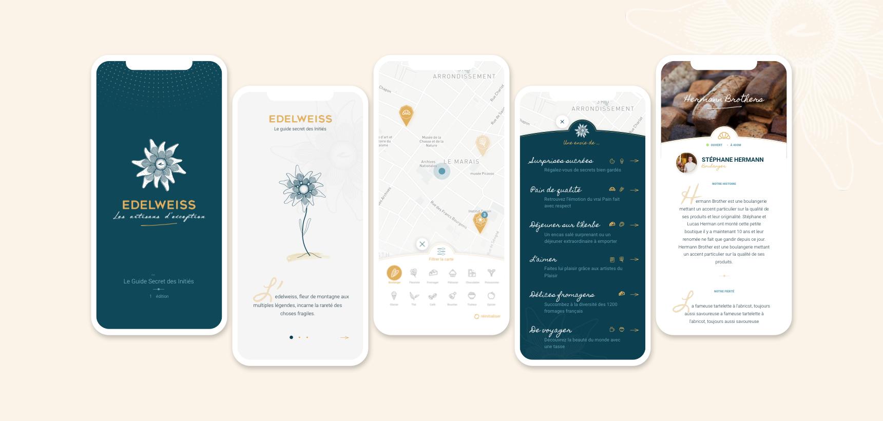 Edelweiss, l'app des gourmets et des gourmands